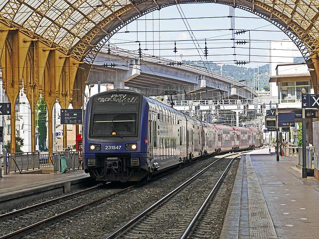 Concourse, Doppelstockzug, Regional Train, Transport