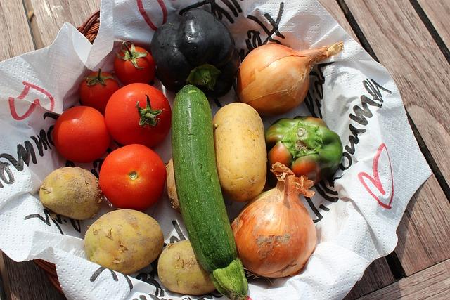 Fresh Vegetables, Regional, Vegetable Basket