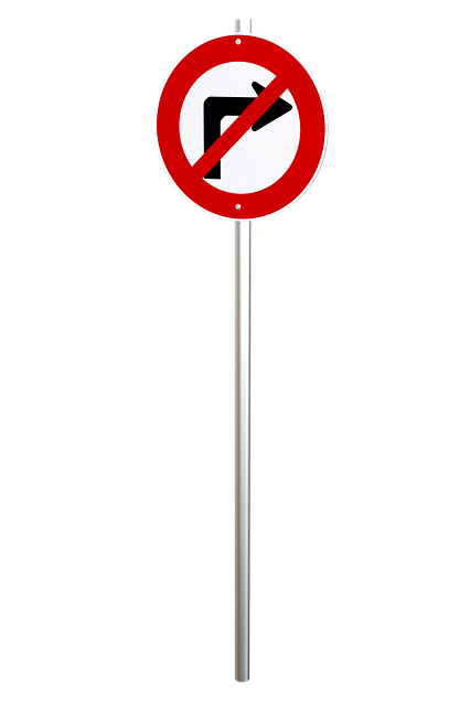 No Right Turn, Traffic Sign, Transportation, Regulation