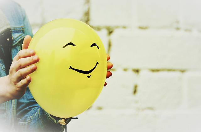 Balloon, Smiley, Smile, Joy, Fun, Relationship, Love