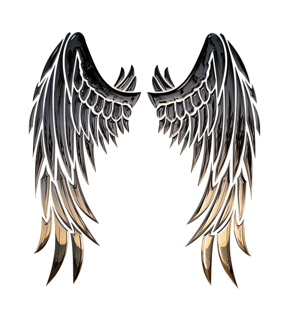Angel, Wings, Angel Wings, Religion, 3d