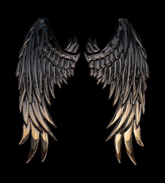 Angel, Wings, Angel Wings, Religion, 3d