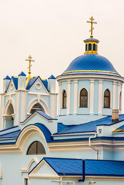 Church, Architecture, Orthodox, Cross, Religion