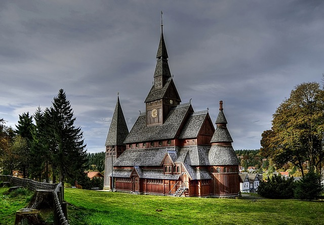Church, Resin, Germany, Religion, Architecture