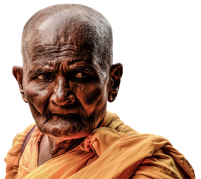 Monk, Buddhist, Buddhism, Meditation, Religion