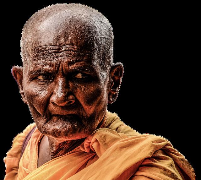 Monk, Buddhist, Buddhism, Meditation, Religion