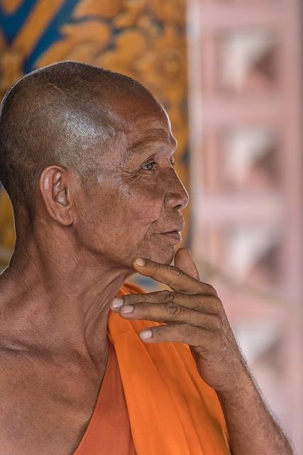 Monk, Buddhist, Buddhism, Asia, Meditation, Religion