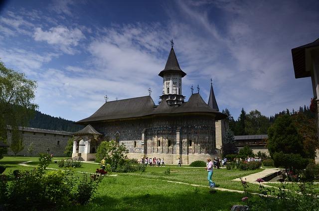 Monastery, Bukovina, Romania, Moldovita, Religion