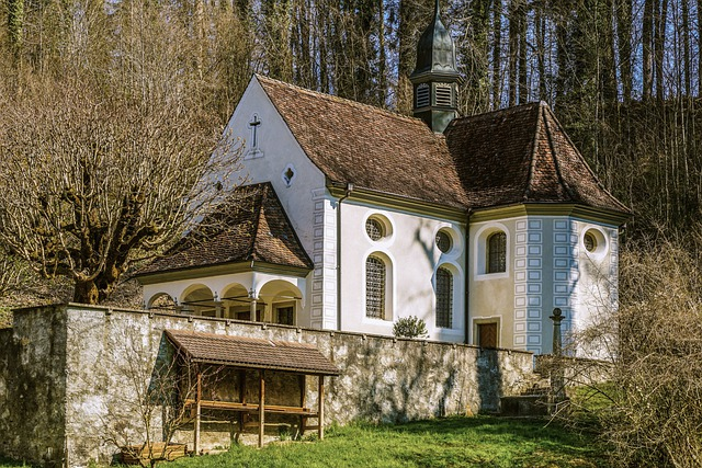 Chapel, Pilgrimage Chapel, House Of Prayer, Religion