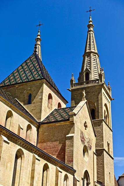 Church, Spire, Architecture, Christianity, Religion