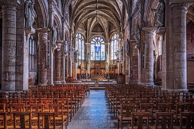 Church, Empty, Religion, Building, Historical