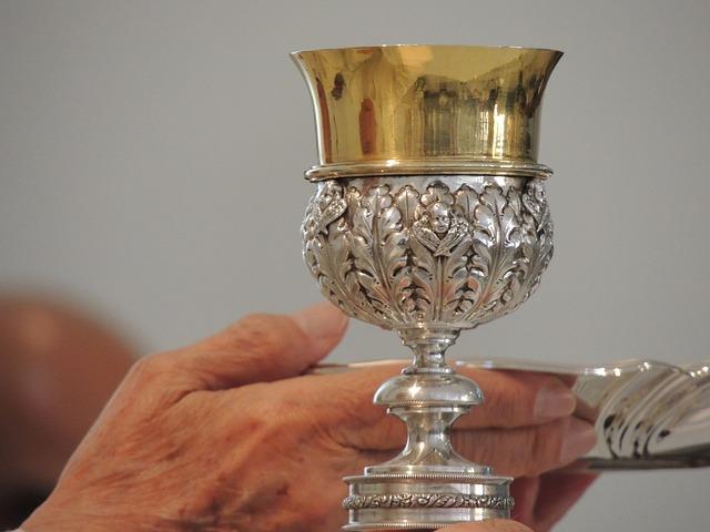 Chalice, Church, Hand, Praying, Eucharist, Religion