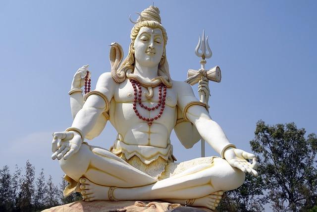 Lord Shiva, Statue, God, Hindu, Religion, Architecture