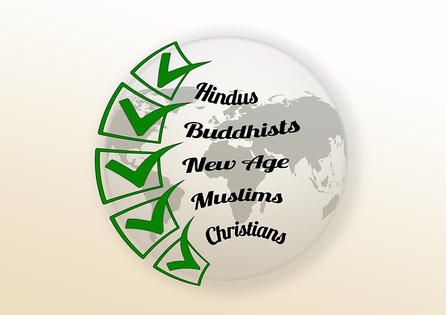 Religion, Faith, Christianity, Islam, Hinduism