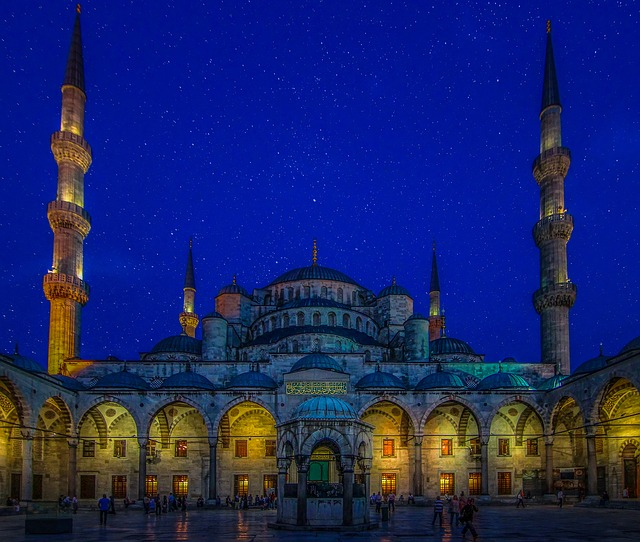 Blue Mosque, Turkey, Istanbul, Mosque, Religion, Light
