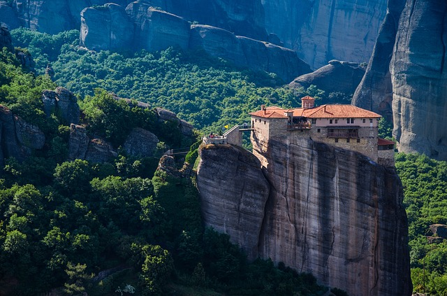 Forest, Mountains, Travel, Religion, Stones, Monastery