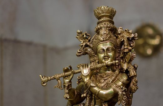 Idol, India, Lord Krishna, Religion, Sacred