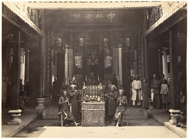 Chinese Pagoda Cholon, Religious Ceremony, Prayer