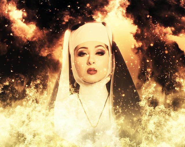 Nun, Woman, Religious, Spiritual