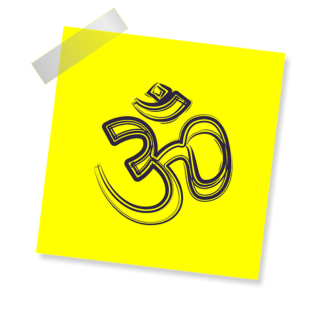 Om, Sign, Icon, Reminder, Yellow Sticker, Post, Note