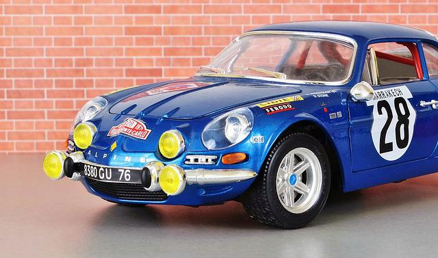 Model Car, Renault, Renault Alpine, Model, Auto