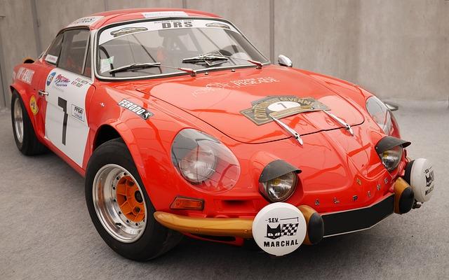 Car, Classic Car, Renault