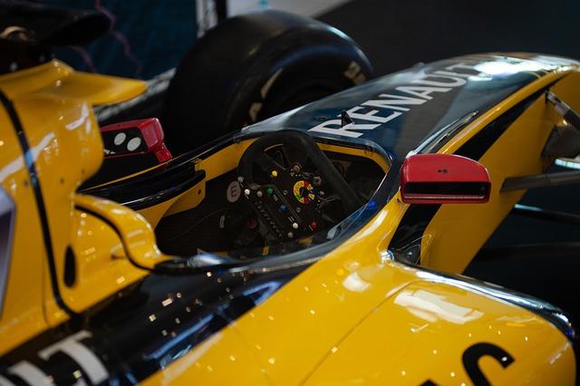 F1, Car, Wheel, Steering Wheel, Cockpit, Renault