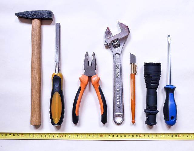 Tools, Work, Repair, Hammer, Screwdriver, Chisel