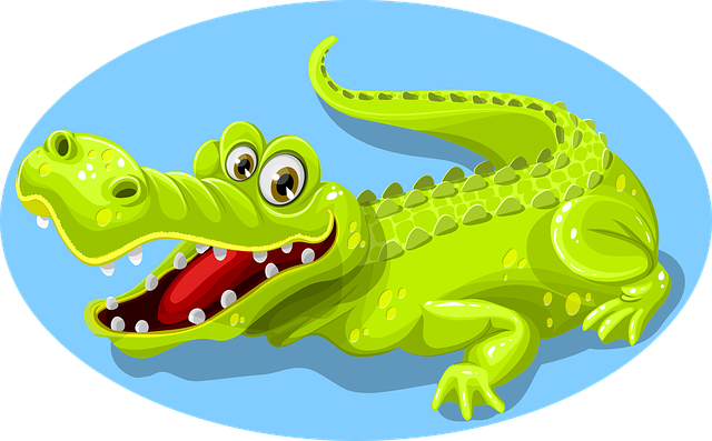 Crocodile, Green, Animal, Teeth, Reptile, Nature, Wild