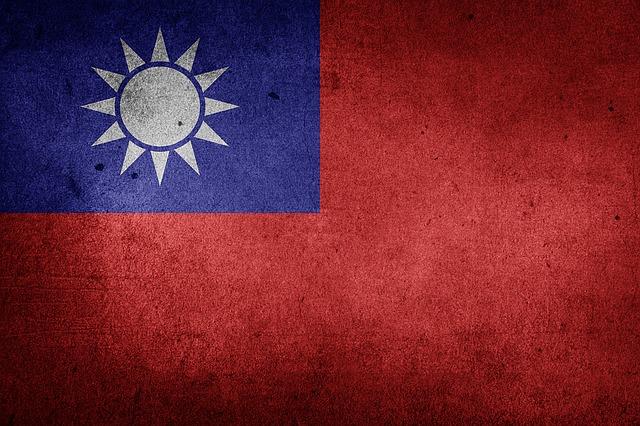 Taiwan, Flag, Roc, Republic Of China, National Flag