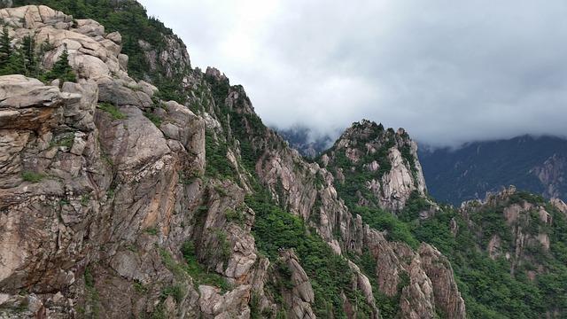 Mt Seoraksan, Rock, Gangwon Do, Republic Of Korea