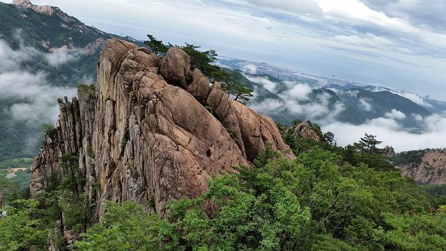 Mt Seoraksan, Mountain, Rock, Nature, Republic Of Korea