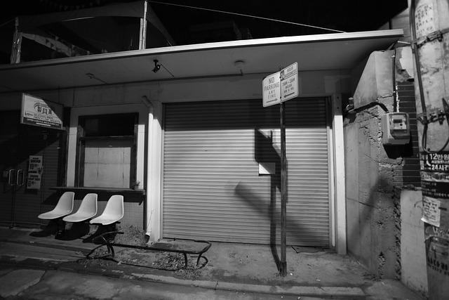 Republic Of Korea, Seoul, Hongdae, Alley, Night, Chair