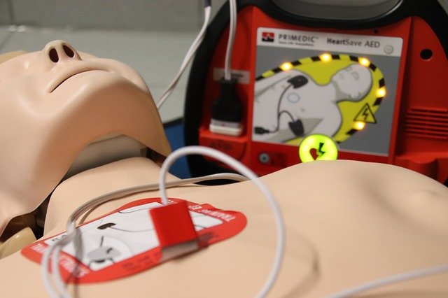 First Aid, Doll, Exercise, Aed, Defibrillator, Rescue