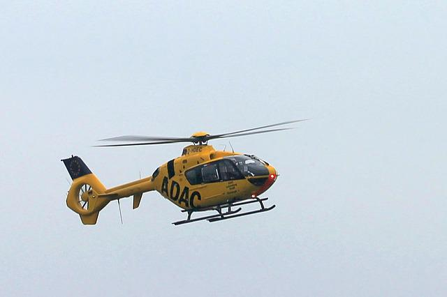 Helicopter, Rescue Helicopter, Adac
