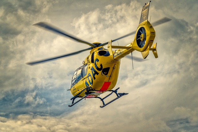 Adac, Helicopter, Rescue Helicopter, Air Rescue, Use
