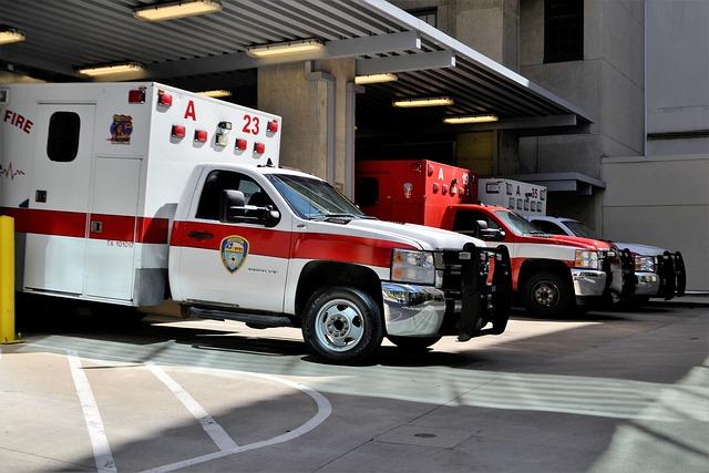 Emergency Room, Hospital, Ambulance, Rescue, Houston