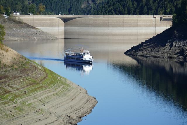 Oker, Dam, Motor Ship, Excursion Steamer, Reservoir