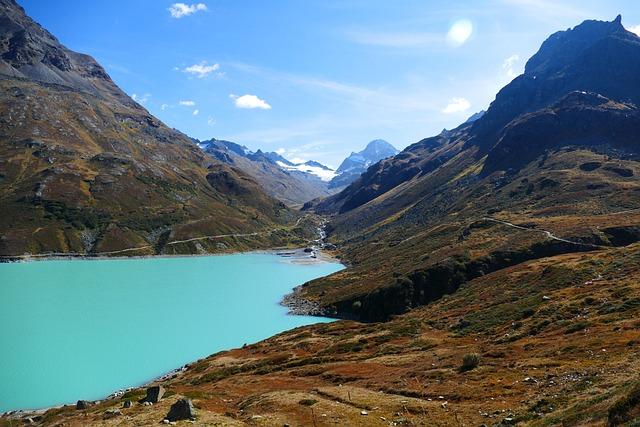 Reservoir, Dam, Silvretta, Montafon, Vorarlberg