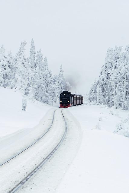 Steam Locomotive, Brocken Railway, Resin, Tourism