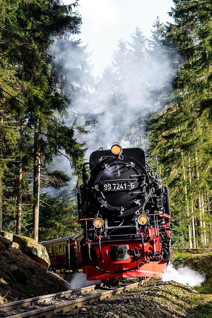 Steam Locomotive, Schmalspuhr, Schmalspuhrbahn, Resin