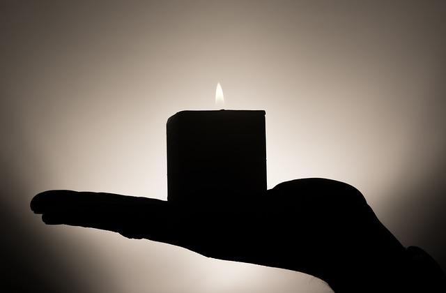 Candle, Meditation, Hand, Keep, Heat, Confidence, Rest