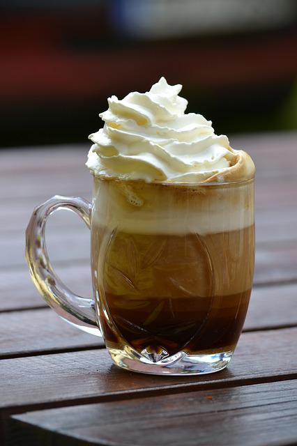 Coffee, Cup, Whipped Cream, Rest