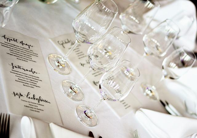 Cover, Celebration, Glasses, Menu, Festive, Restaurant