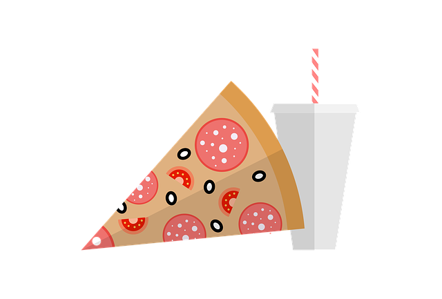 Fastfood, Pizza, Cola, Food, Fast, Restaurant, Snack