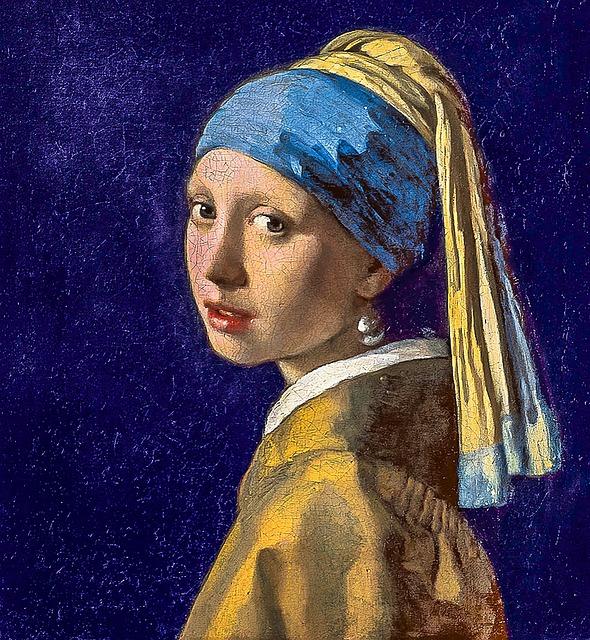 Girl With The Pearl Earring, Restored Fresco