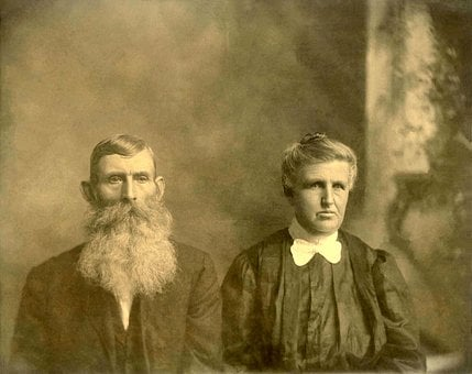 Grandparents, Old Photos, Old People, Elderly, Retired