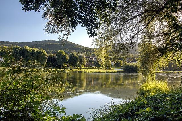 Loire, River, Retournac, High-loire, France, Auvergne