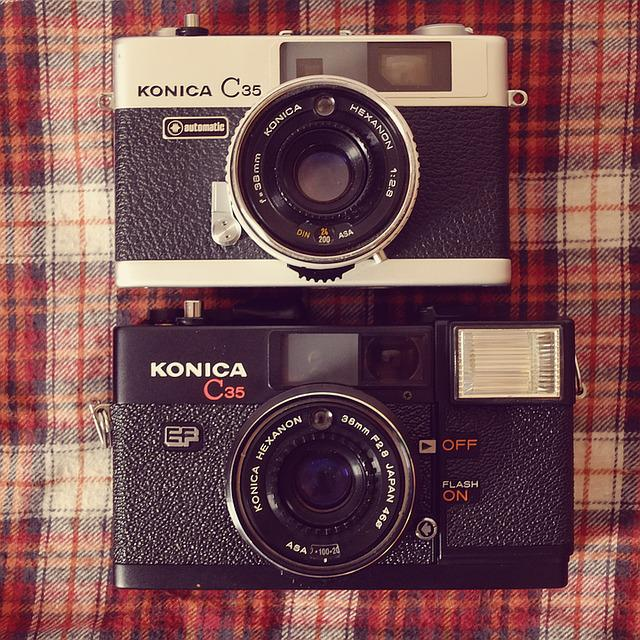 Camera, Analog, Hipster, Flannel, Vintage, Retro