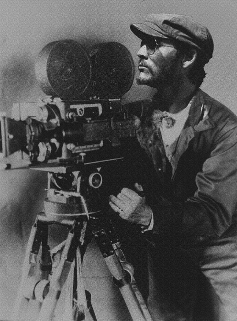 Director, Burke Roberts, Camera, Old, Retro, Action